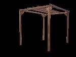 Pergola en bois - 3,00x2,96 m - 8,88 m²