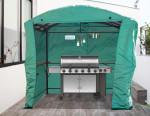 Bâche pour carport barbecue CAR 2415 AC